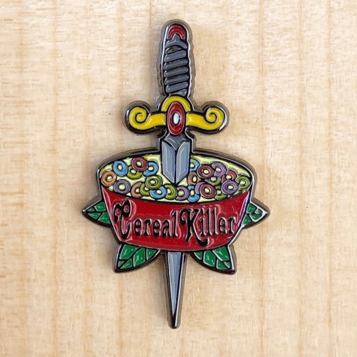 Cereal Killer Pin