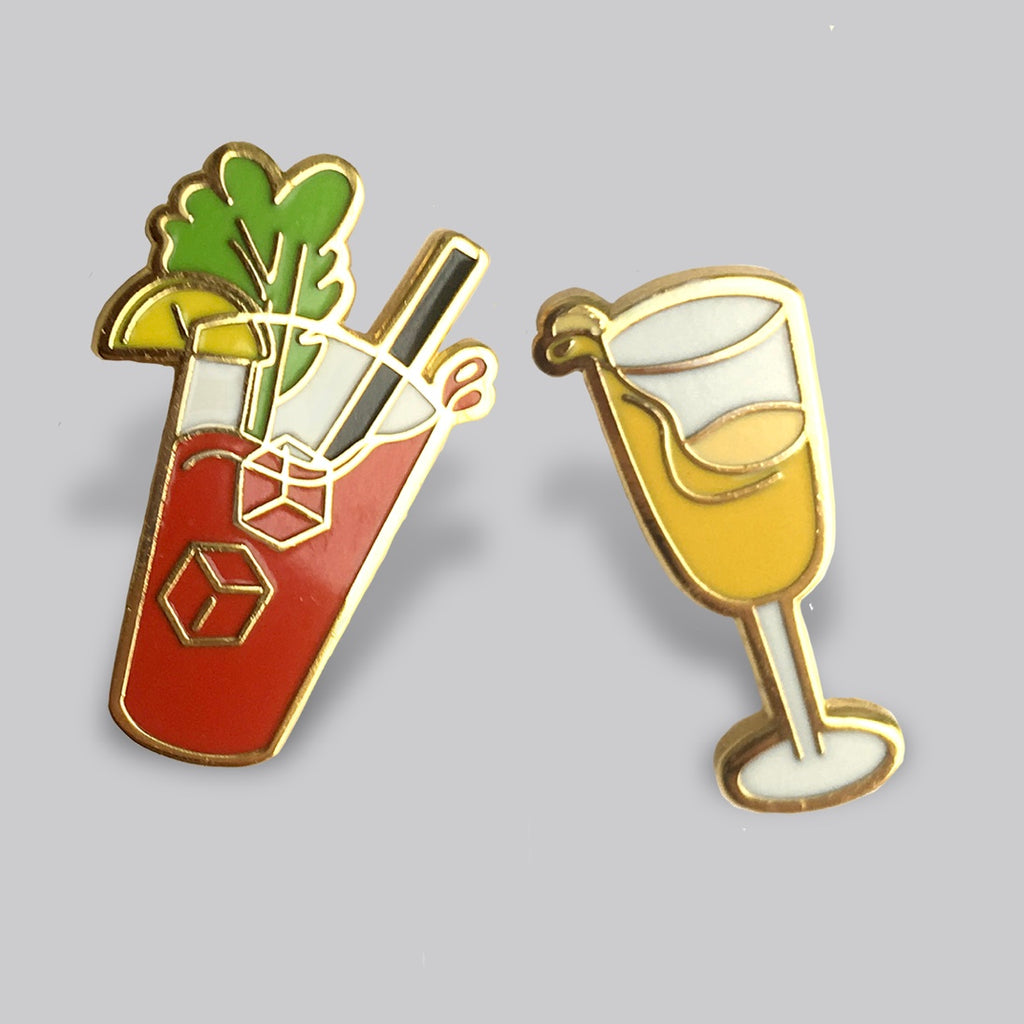 Brunch Buddies Pin