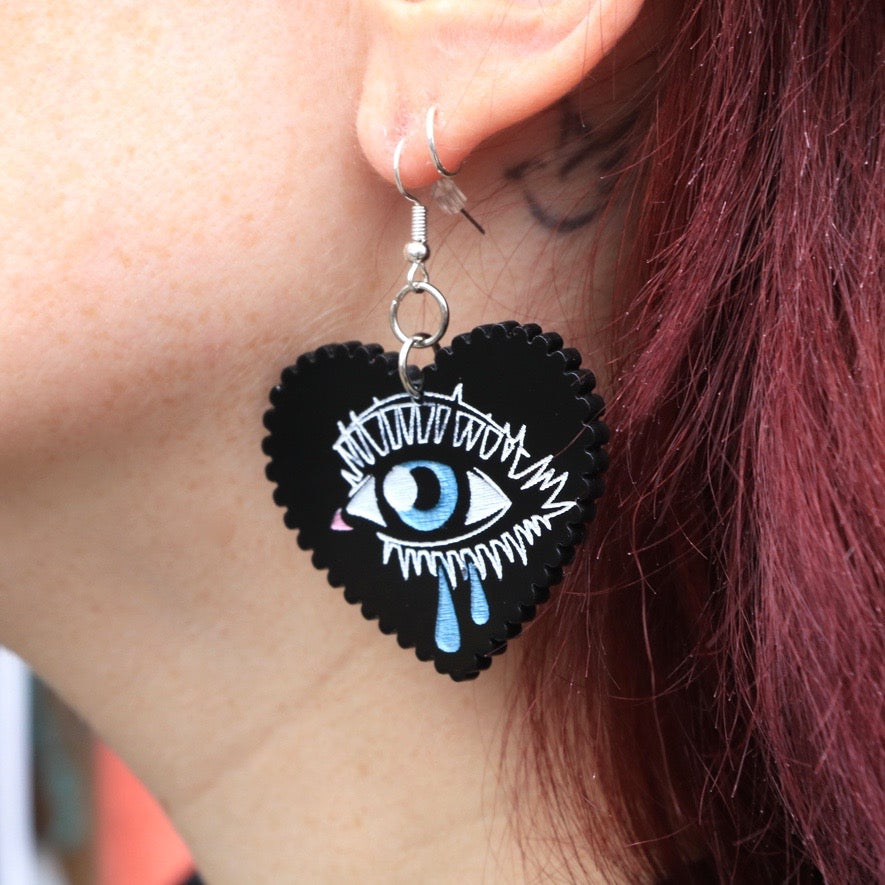 Weeping Eye Earrings