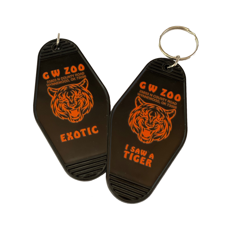 Tiger King Keychain