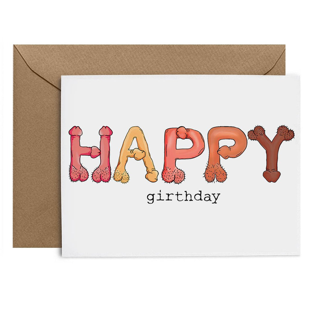 Happy Girthday Card