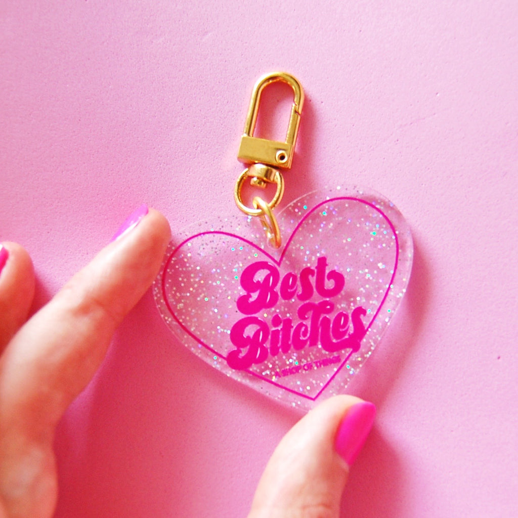 Best Bitches Keychain