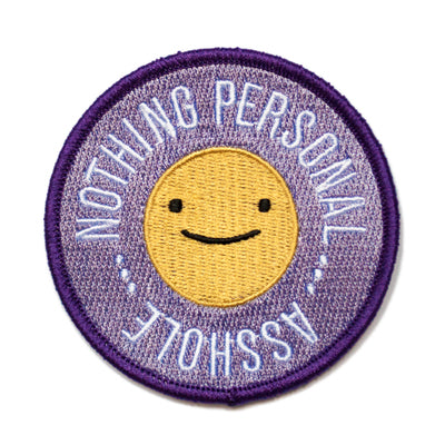 Nothing Personal Asshole Patch