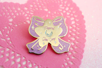 Magical Girl Gang Pin