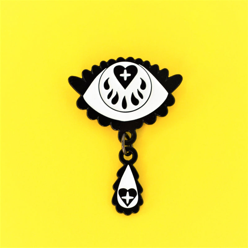 Teardrop Eye Pin