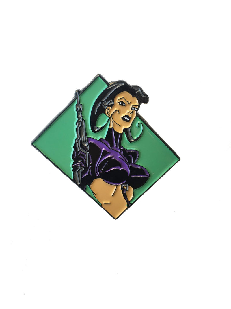 Aeon Flux Woman with a gun