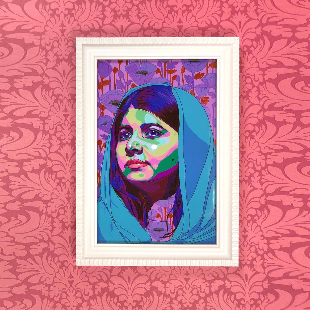 Malala Yousafzai Digital Portrait