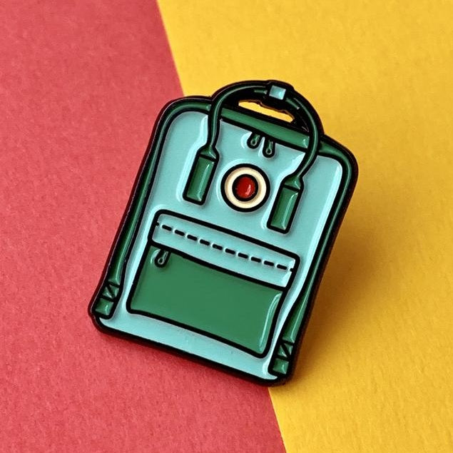 Backpack - Green Pin