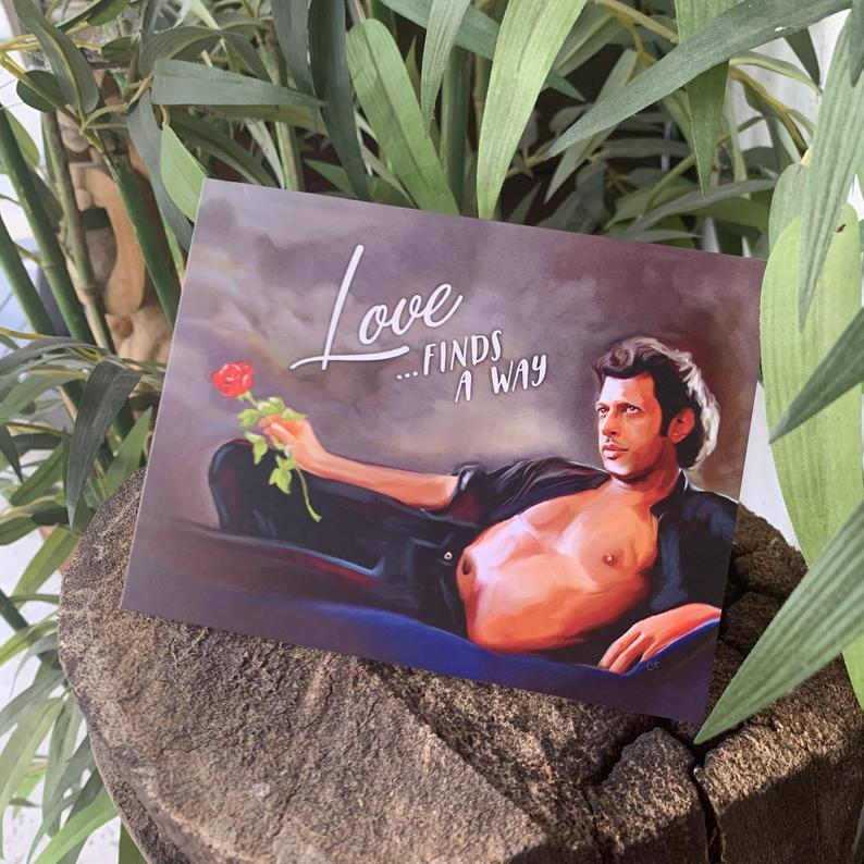 Jeff Goldblum Card