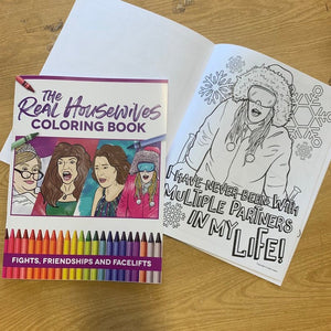 Housewives Coloring Book