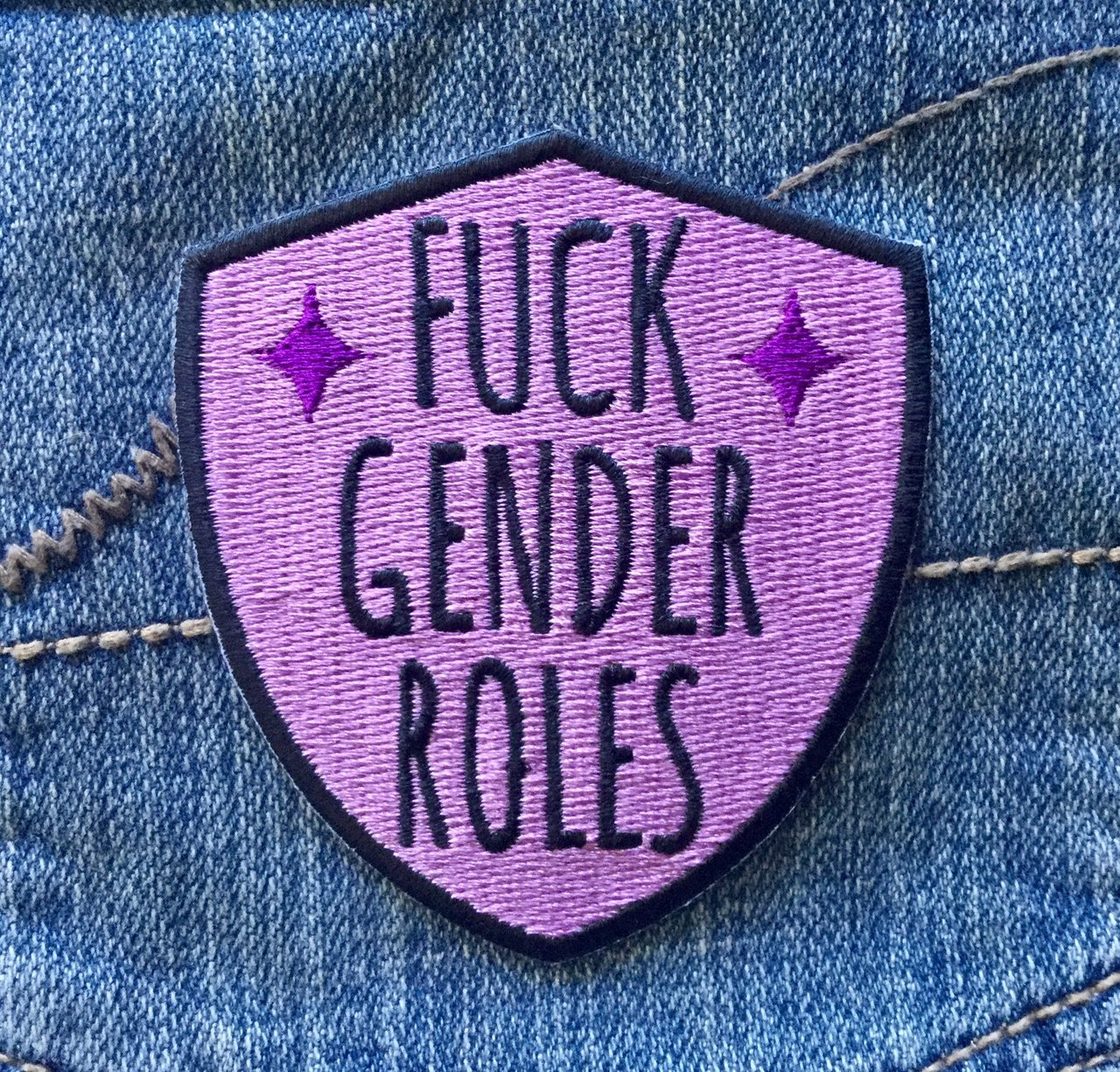 Fuck Gender Roles Patch
