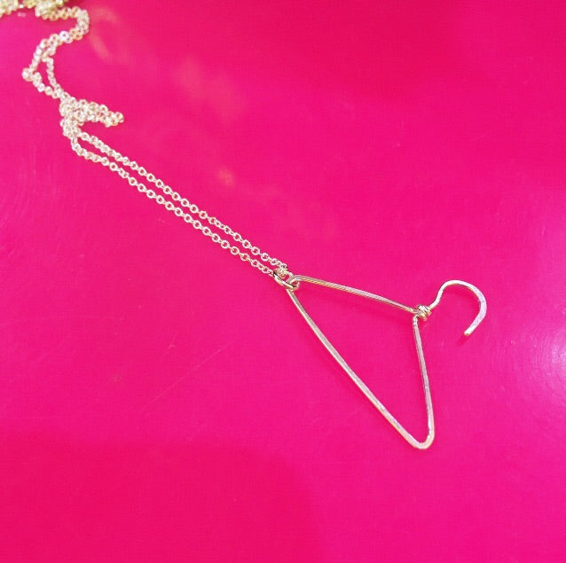 Coat Hanger Necklace