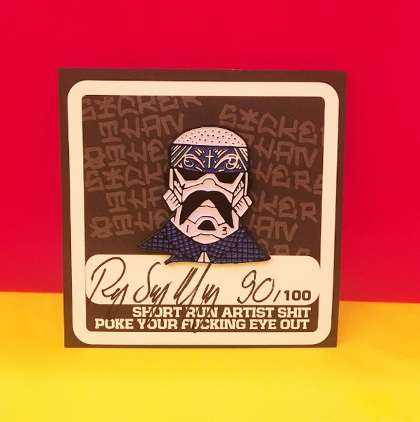 Barrio Trooper Pin