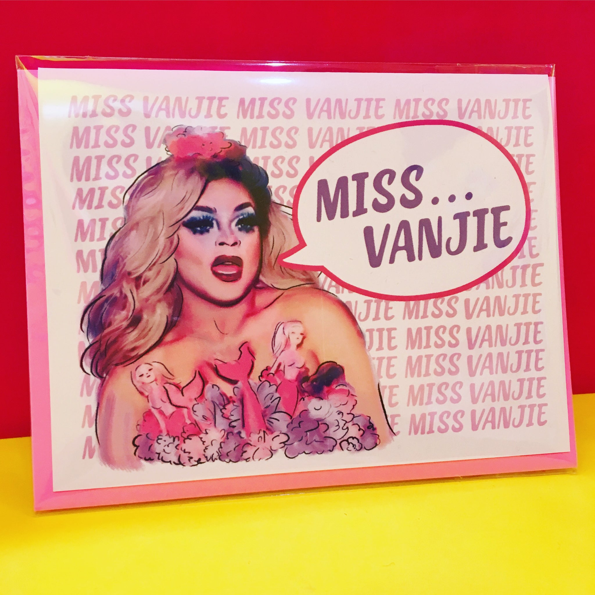 Miss Vanjie Card