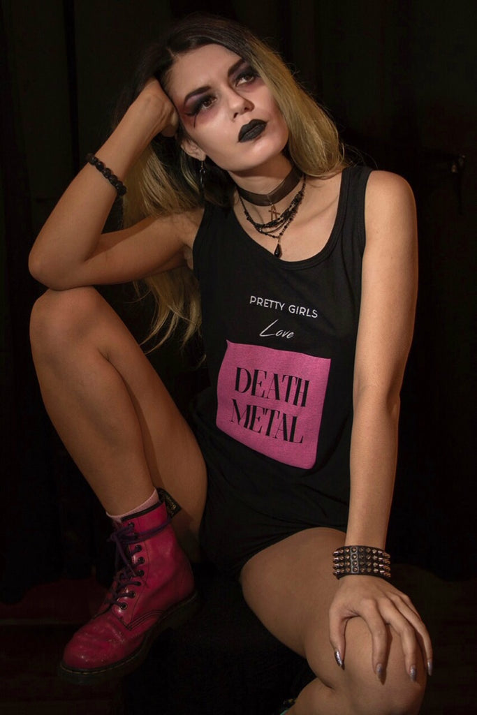 Pretty Girls Love Death Metal Tank