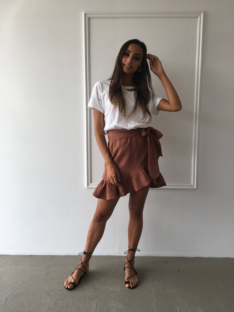 Misty Skirt in Copper