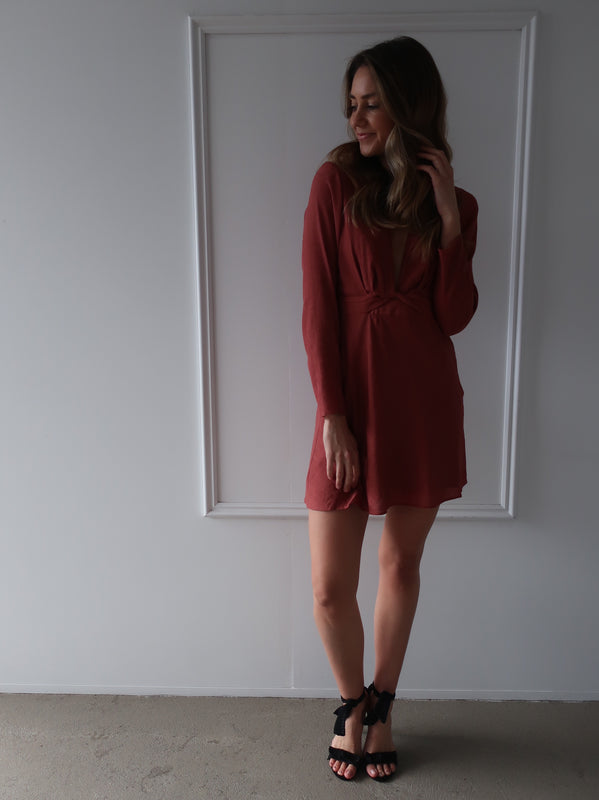 Sabrina Long Sleeve Dress