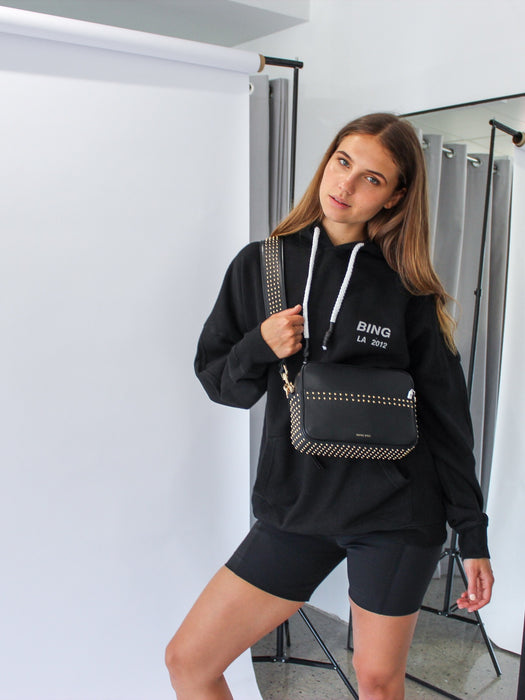 Lottie Hoodie in Black