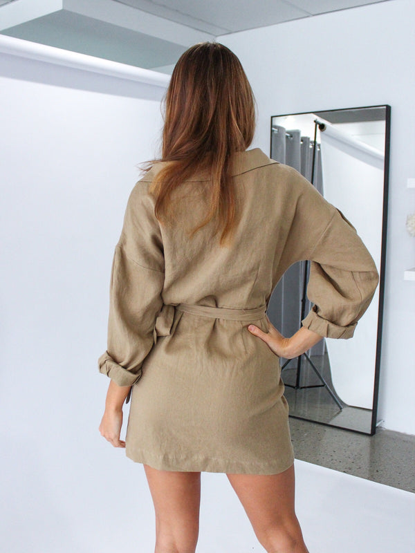 Joelle Shirt Dress