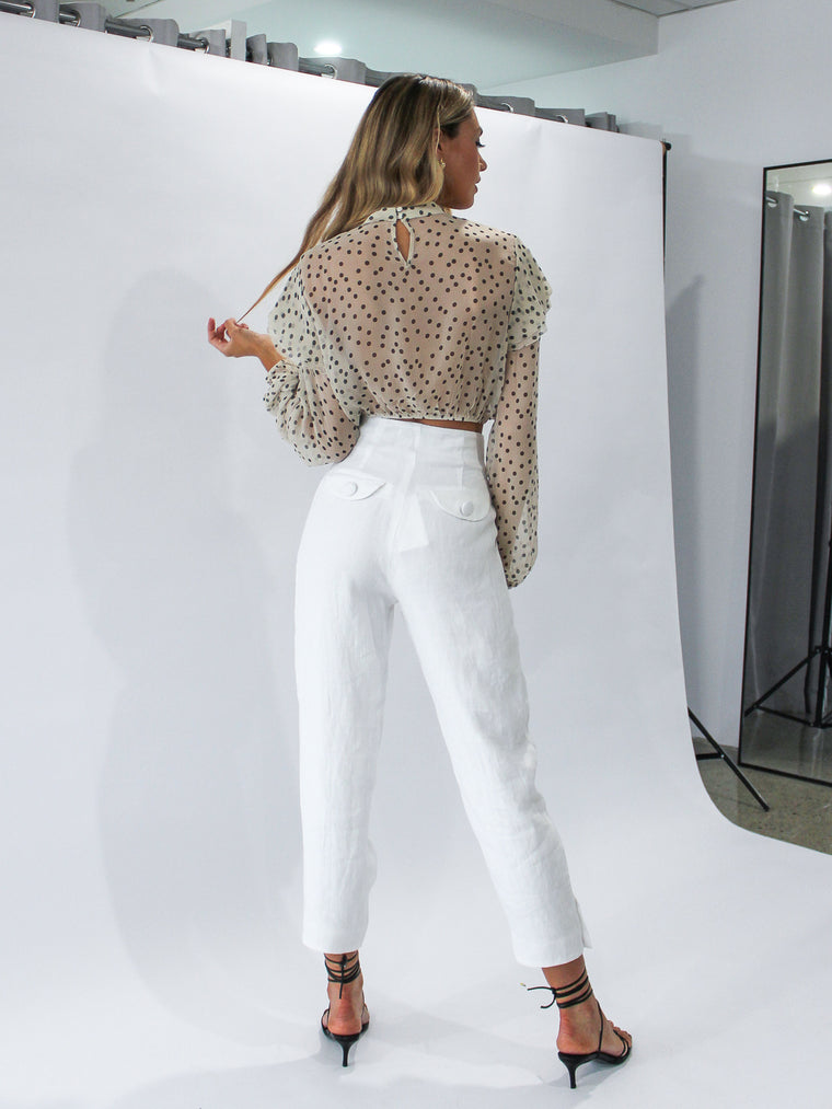 Lua Pant in White