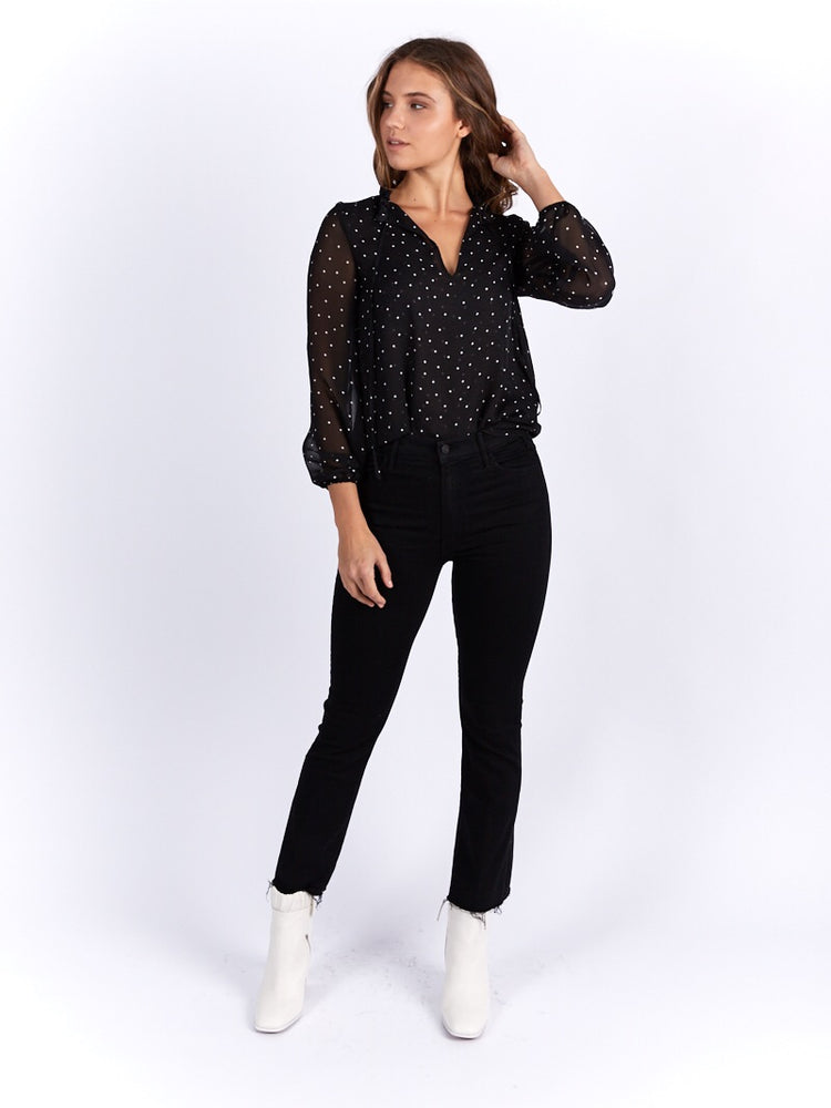 Load image into Gallery viewer, Fleur Polka Blouse