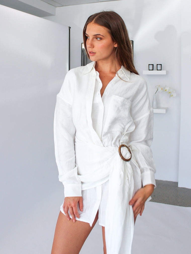 Herald Shirt Dress
