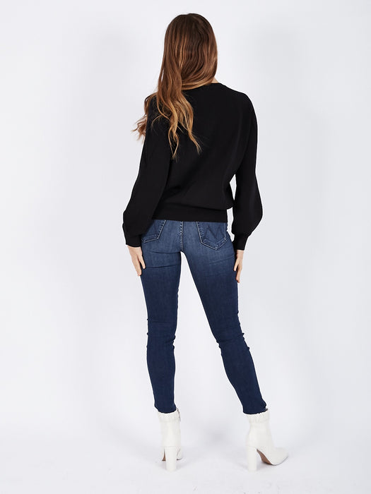 High Waisted Looker Jeans in Tongue in Chic