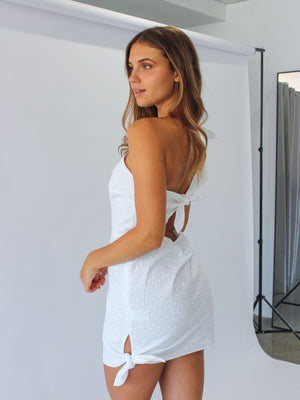 Load image into Gallery viewer, Charlee One Shoulder Mini Dress