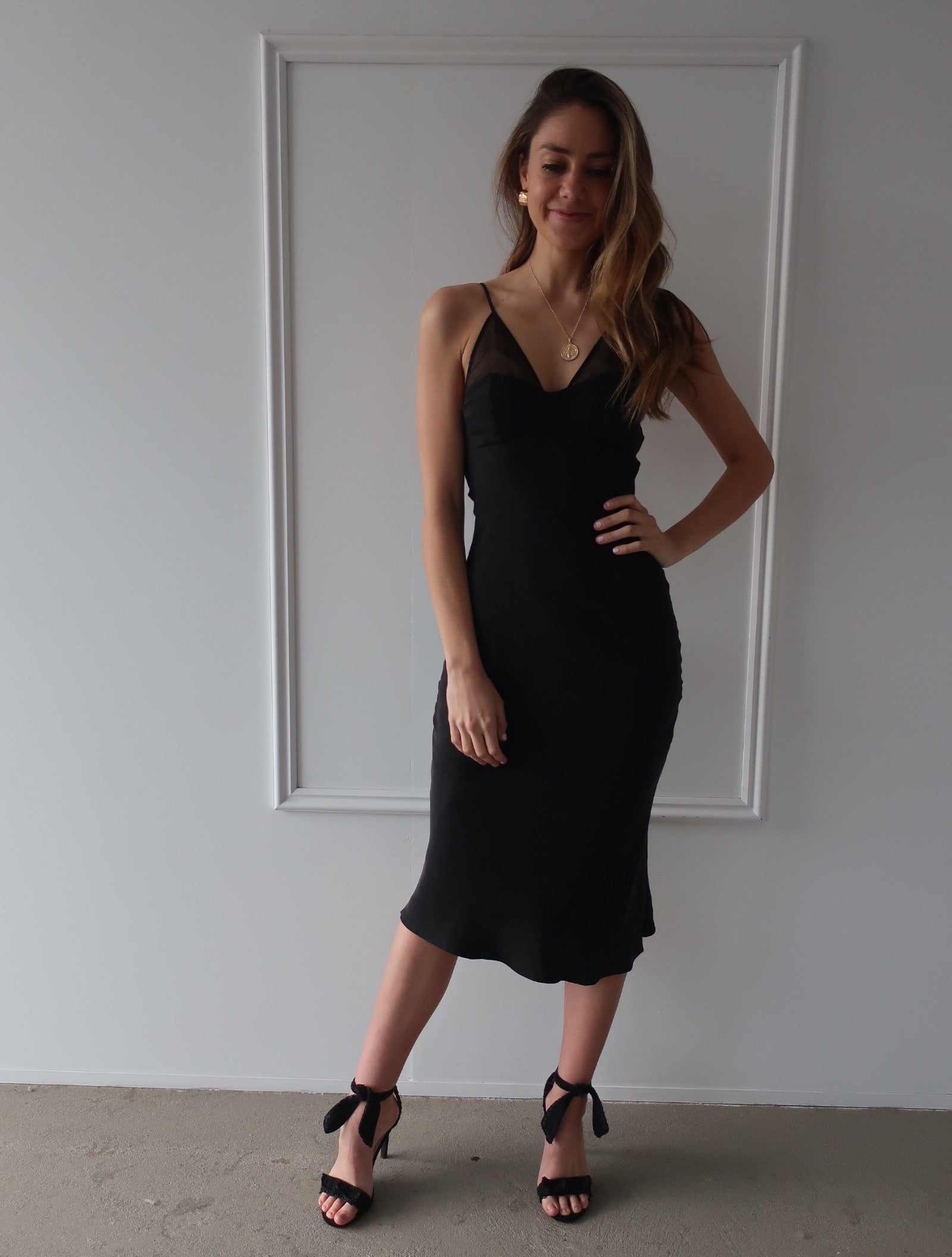 Revolution Bias Slip Dress