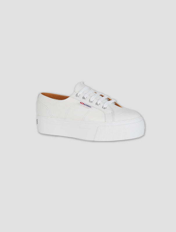 Nappa Leather Platform Sneaker