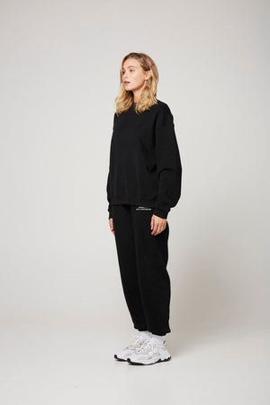 Load image into Gallery viewer, Track Pant in Black