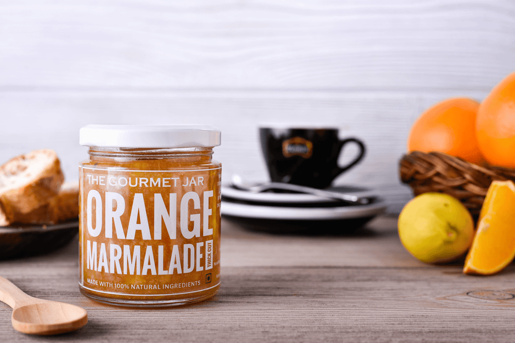 Orange Marmalade Thick-Cut (240 gms)-The Gourmet Jar