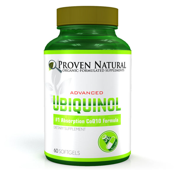 Proven Natural Advanced Ubiquinol Based CoQ10