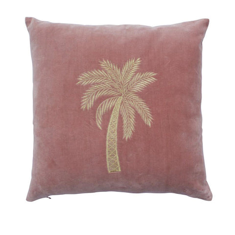 Cushion - Velvet - Old Pink (with filling)