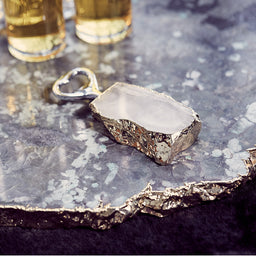 Bottle Opener - Crystal / Gold