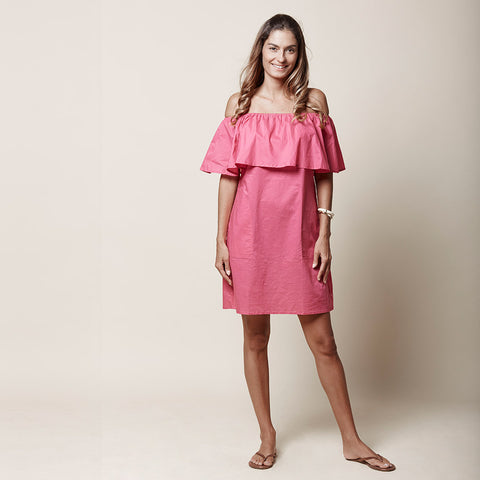 Hari Dress - Fuchsia