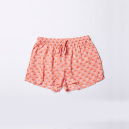 Sara shorts - Pineapple print - Papaya