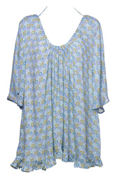 Raquel Cover Up - Pastel Japanese print
