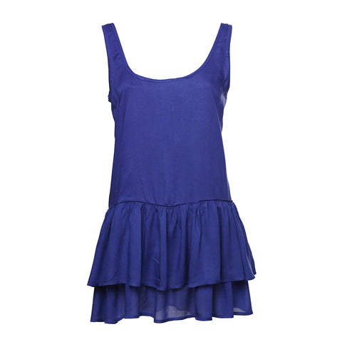 Camille Dress - Navy Blue
