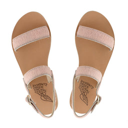 Clio Sandals - Calf hair - Light pink