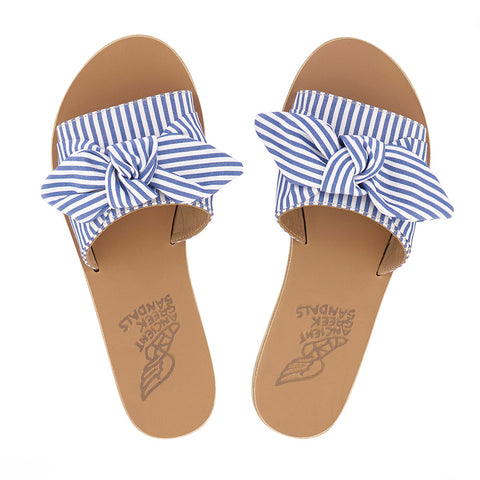 9abd4c4c35977 Taygete Bow - Stripes Blue White – Edit Lifestyle