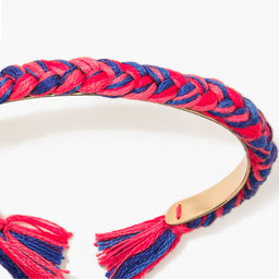 Copacabana Thin bracelet - Red / Navy