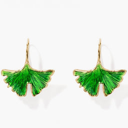 Tangerine Earrings - Jade Lacquered