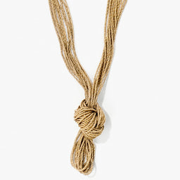 Miki Knotted Long Necklace
