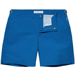 Bulldog Swim Shorts - Mid-Length Tailored - Maritime