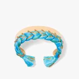 Copacabana Bracelet - Ocean / Yellow gold