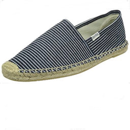 Original Stripe - Espadrilles - Denim Blue / White