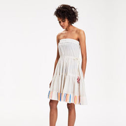 Damena Festival Dress - Rainbow