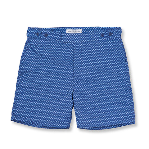Tailored Swim Shorts - Copacabana - Navy / Slate Blue