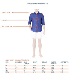 Linen Shirt - Regular Fit - White